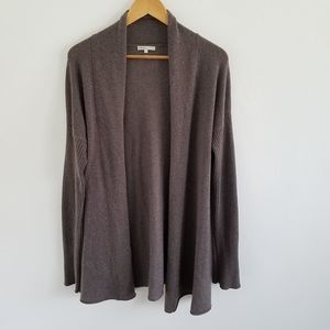 Vince 100% Cashmere Open Front Cardigan Sweater L